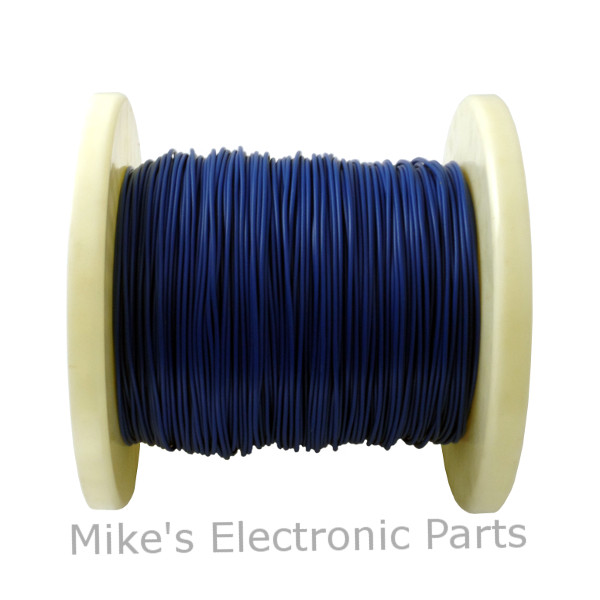 24 AWG PVC Covered Hook Up Wire Blue