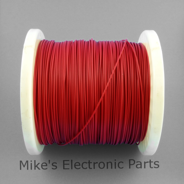 24 AWG PVC Covered Hook Up Wire Red