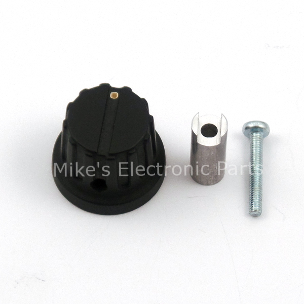 Large Extension and Knob for Variable Capacitor