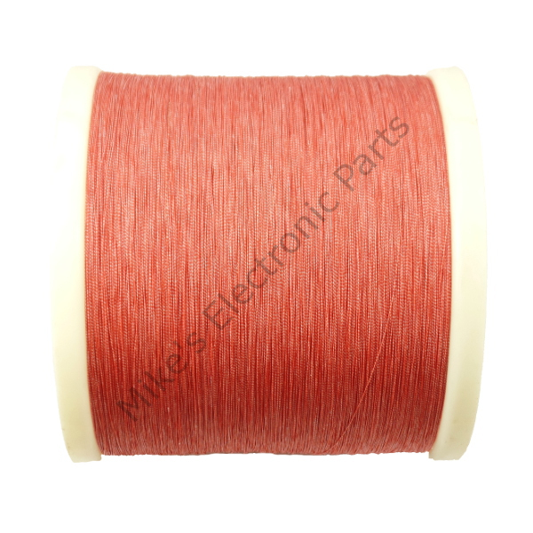 Litz Wire 40/46 Red