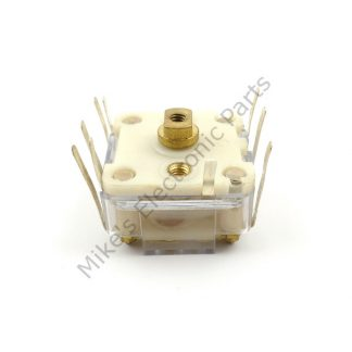 Plastic Variable Capacitor dual section 266pf