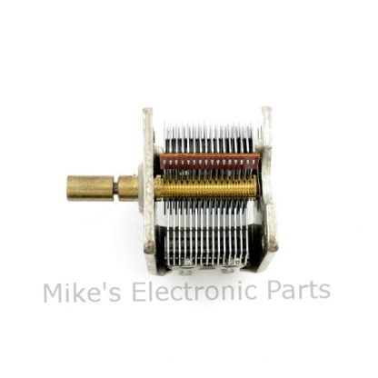 384pf Air Variable Capacitor with 8:1 planetary reduction drive
